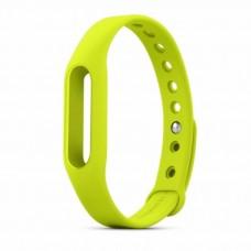 Сменный ремешок для фитнес браслета Xiaomi Mi Band (Салатовый)