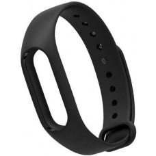 Сменный ремешок для фитнес браслета Xiaomi Mi Band (Черный)