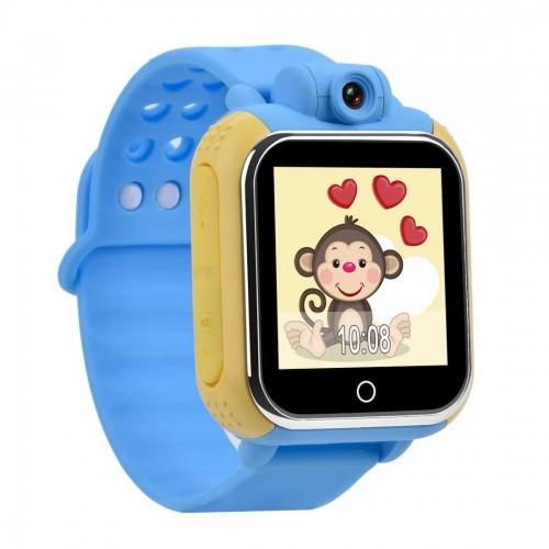 Детские GPS Часы Smart Baby Watch Q75 blue