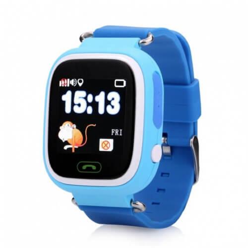 Детские GPS Часы Smart Baby Watch Q80 blue
