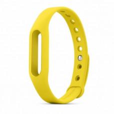 Сменный ремешок для фитнес браслета Xiaomi Mi Band 2 (Желтый)
