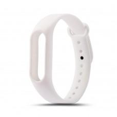 Сменный ремешок для фитнес-браслета Xiaomi Mi Band 2 White (Белый)