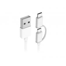 Кабель 2in1 USB Type-C/Micro Xiaomi ZMI 100 см (AL501)