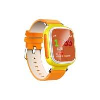 Детские GPS Часы Smart Baby Watch Q60S orange