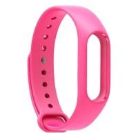 Сменный Ремешок Для Фитнес-Браслета Xiaomi Mi Band 2 (Розовый)